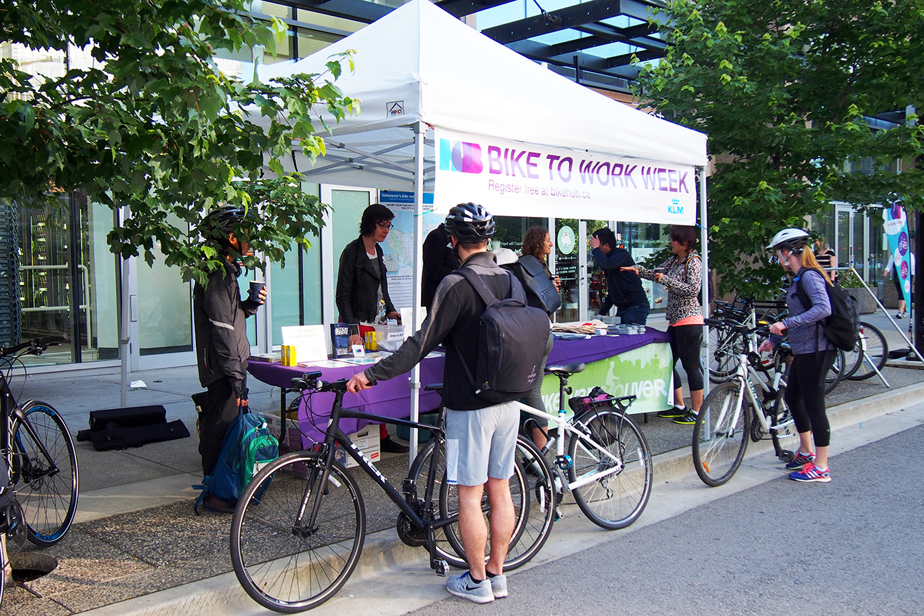 Vancouver Bike To Work Week Photos News Press Live To Play